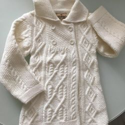 Knitted cardigan coat 92 new