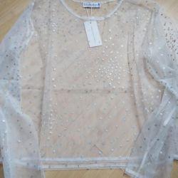 NEW blouse transparent