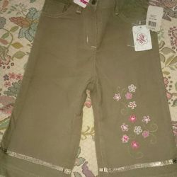 Corduroy trousers for the girl new river 86. Baby