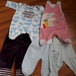 Body pants 50-56 cm for newborn