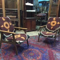 Кресла винтажные дизайнерские в восточном стиле