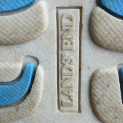 Lands End Summer slippers with flypaper p.38