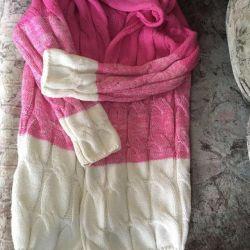Jachetă tricotată