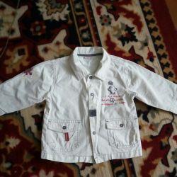 Jachetă ușoară + tricou