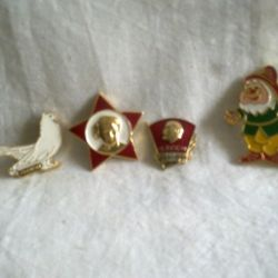 USSR badges