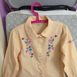 Blouse for the girl Play Today, size 110, 116-122