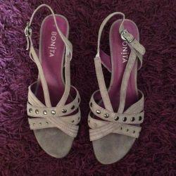 New Suede Sandals 40