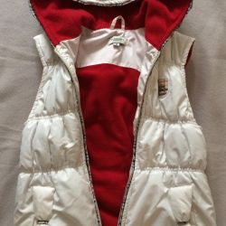 Jacket - vest for girls