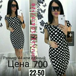 New summer polka dot dress!