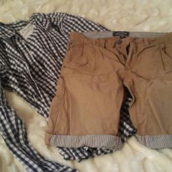 Shorts for men and shirt GLORIA JEANS