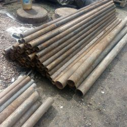 Pipe 219x9 for industrial buildings