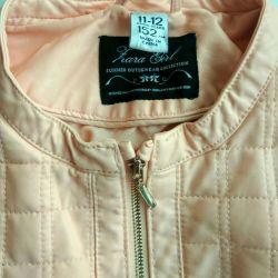 Zara geaca din piele ecologică