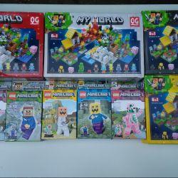 655 Quanguan Set 6 in 1 Minecraft