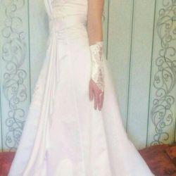 Платье свадебное р46-48