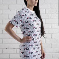 Платье Fila белое