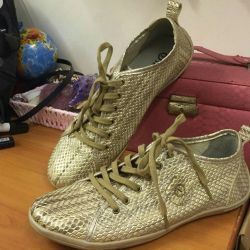Tervolina leather sneakers