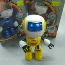 Robot etkileşimli metal konuşuyor