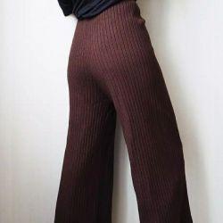 Πλεκτά παντελόνια
