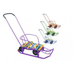 Timka 5 sledge with wheelbase from stock