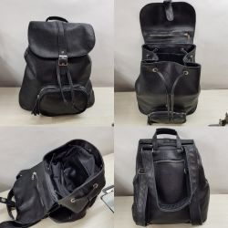 Dallexi Genuine Leather Transformer Backpack
