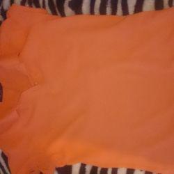 Поло оранжевое инсити