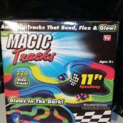 Flexible glowing track Magic Trcks.