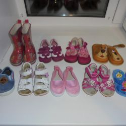 A choice of shoes 21 times. 13cm on the insole