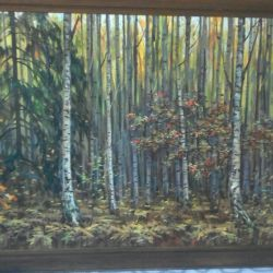 Oil painting: ,, Autumn time