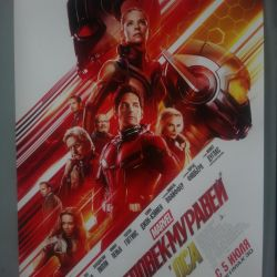 Poster / poster / poster Ant-Man and the Wasp.Marvel