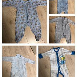 0-9 ay bebek için şeylerin bavul