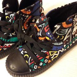 Footwear for children.