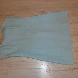 Albastru rochie mini