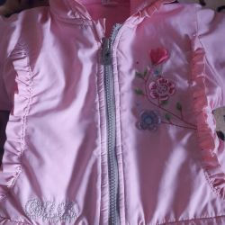 Jacket Spring - autumn for a girl up to 1 year old