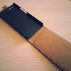 Huawei onur 6 artı için flip case
