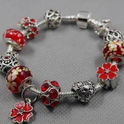 Bracelet in the style of Pandora 1614