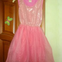 New dress for girls 4-6 years old