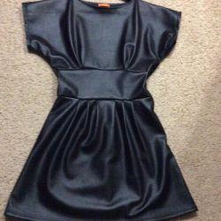 Dress new leatherette