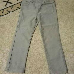 2-3 yıl boyunca ince insanlar için kot pantolon