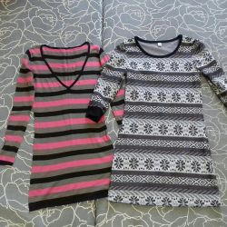 Knitted dresses, 42 size