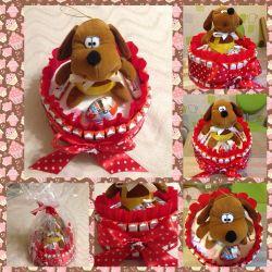 Cake Kinder Jucărie cadou de aniversare