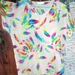 Нова блузка футболка туніка кофта 46-48