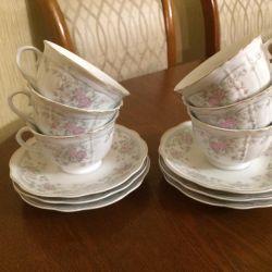 A tea set