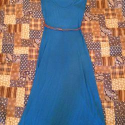Платье в пол sela
