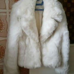 Coat alb