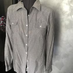 Striped shirt female 46 r, USA