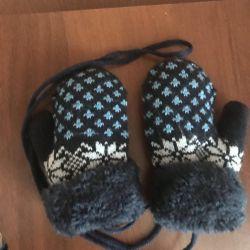 Sıcak yeni eldivenler