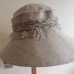 Шляпа, костромской лeн, арт 014, размер 57-58
