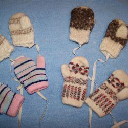 mittens socks booties, etc.