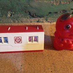 Toys USSR scoreboard football workers