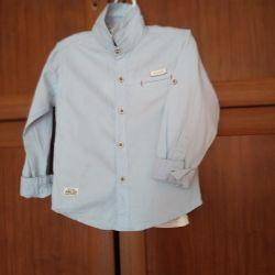 Рубашка фирменная 2 - 3 года